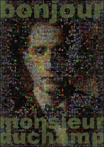 Ana Pusica_Bonjour Monsieur Duchamps_06 2013 Flyer Front