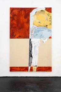 Geometrie II, Acryl auf Leinwand,280x140cm, 2019