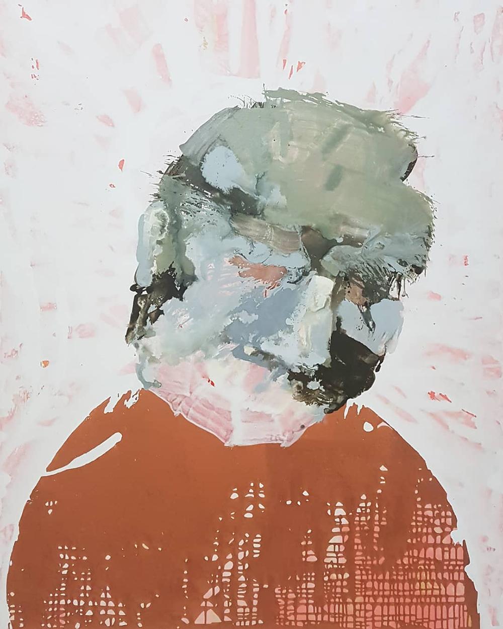 Acryl auf Leinwand, 180x140cm